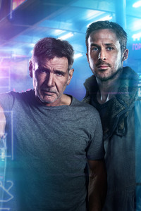 Ryan Gosling And Harrison Ford Blade Runner 2049