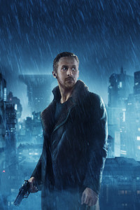 480x800 Ryan Gosling As Officer K In Blade Runner 2049 4k