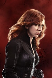 480x854 Scarlett Johansson Black Widow 5k