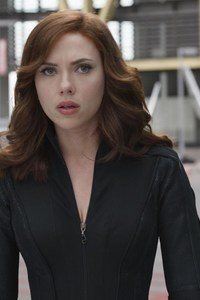 Scarlett Johansson In Captain America Civil War