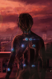 640x1136 Science Fiction Gantz Anime Manga Series 4k