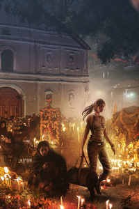 360x640 Shadow Of The Tomb Raider Concept Art 4k