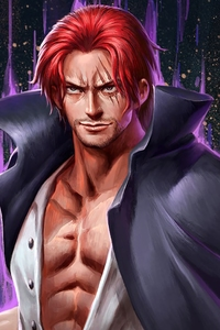 1280x2120 Shanks One Piece