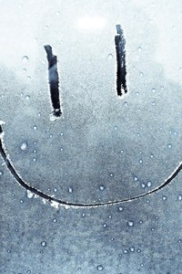 Smiley On Window