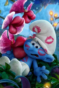 1080x1920 Smurfs The Lost Village Movie