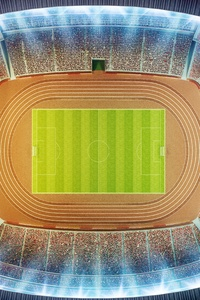 800x1280 Soccer Stadium Top View 8k
