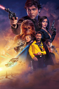 720x1280 Solo A Star Wars Story 4k
