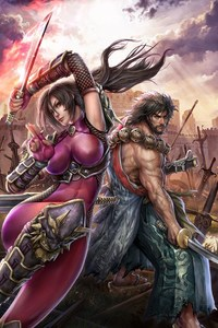 640x1136 Soul Calibur Lost Swords Game