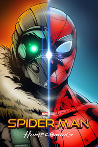 Spider Man Homecoming Art