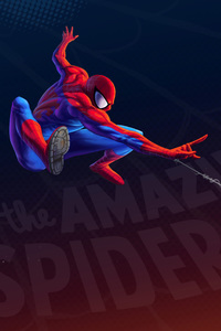 640x960 Spiderman Artwork 4k 5k