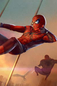 Spiderman Artwork HD