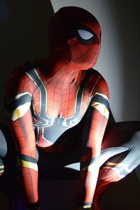 Spiderman Avengers Infinity War Suit Cosplay 5k