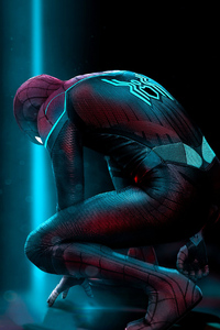 360x640 Spiderman Far From Home Art