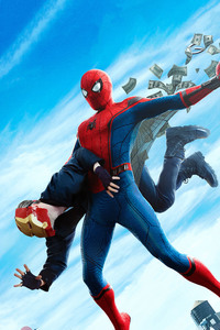 Spiderman Homecoming Final Poster
