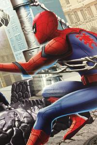 Spiderman Homecoming Promo Art