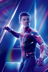 2160x3840 Spiderman In Avengers Infinity War New 8k Poster