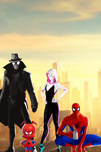 750x1334 Spiderman Into The Spider Verse 15k