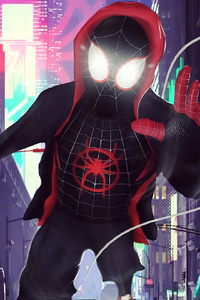 720x1280 SpiderMan Into The Spider Verse 2018 Digital Art