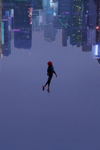 240x320 SpiderMan Into The Spider Verse 2018 Movie