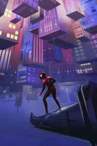 720x1280 SpiderMan Into The Spider Verse Artworks