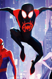 720x1280 SpiderMan Into The Spider Verse France Poster