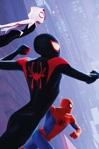 720x1280 SpiderMan Into The Spider Verse International Poster