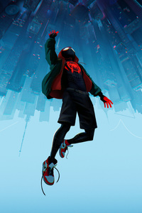 720x1280 SpiderMan Into The Spider Verse Movie 10k