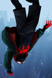 750x1334 SpiderMan Into The Spider Verse Movie 2018 8k