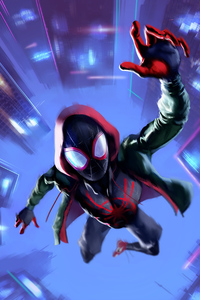 360x640 SpiderMan Into The Spider Verse Movie Arts