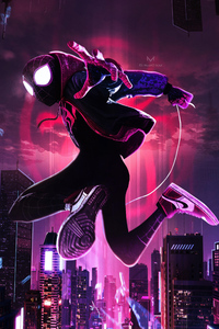 720x1280 SpiderMan Into The Spider Verse Movie New Arts