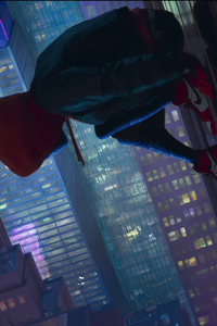 240x320 SpiderMan Into The Spider Verse Movie