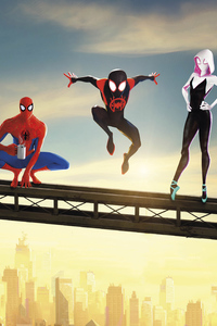 SpiderMan Into The Spider Verse Movie Poster