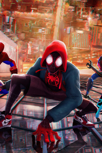 1280x2120 SpiderMan Into The Spider Verse New China Poster
