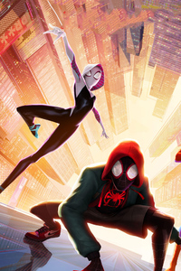 1280x2120 SpiderMan Into The Spider Verse New Poster