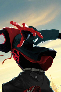 540x960 Spiderman Into The Spiderverse 5k