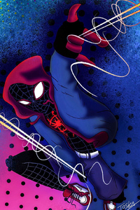540x960 Spiderman Miles Morales New Arts