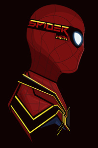 480x854 Spiderman Pop Head Shot