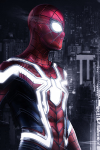 1080x2280 Spiderman PS4 Artwork