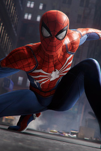 320x480 Spiderman Ps4 Pro 2018 4k