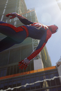Spiderman PS4 Pro 4k Game