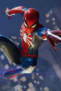 640x1136 Spiderman PS4 Pro Game