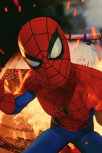 320x480 Spiderman Taking Selfie Ps4 4k 2018