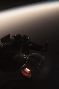 1440x2560 Star Citizen Space Flight