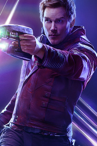 480x854 Star Lord In Avengers Infinity War New Poster
