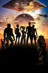 2160x3840 Star Wars Rebels Key Art