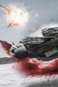 Star Wars The Last Jedi Millennium Falcon