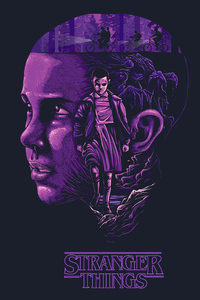540x960 Stranger Things 4k Art