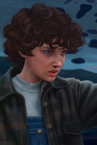 540x960 Stranger Things Eleven Artwork