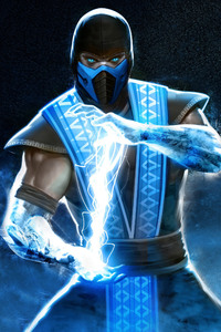 Sub Zero In Mortal Kombat 4k