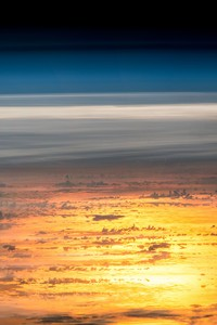 Sunset From The International Space Station
